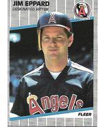 Baseball Card- Jim Eppard 1989 Fleer #476 - $1.25