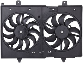 DUEL FAN ASSEMBLY NI3115137 FOR 09 10 11 12 13 14 15 NISSAN ROGUE L4 2.5L image 2