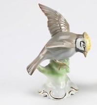"Rare Vintage Porcelain Gerold & Co Tettau 5 3/8"" Bird Figurine Bavaria G... - $39.59"