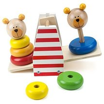 By-Imagination Generation Toy For Toddlers, Wooden Wonders Balancing Bea... - $32.99