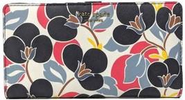 NWT Kate Spade New York Cameron Breezy Floral Large Slim Bifold Wallet WLRU5418 - $63.36