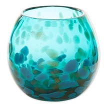 Aqua Bowl Vase - $16.99