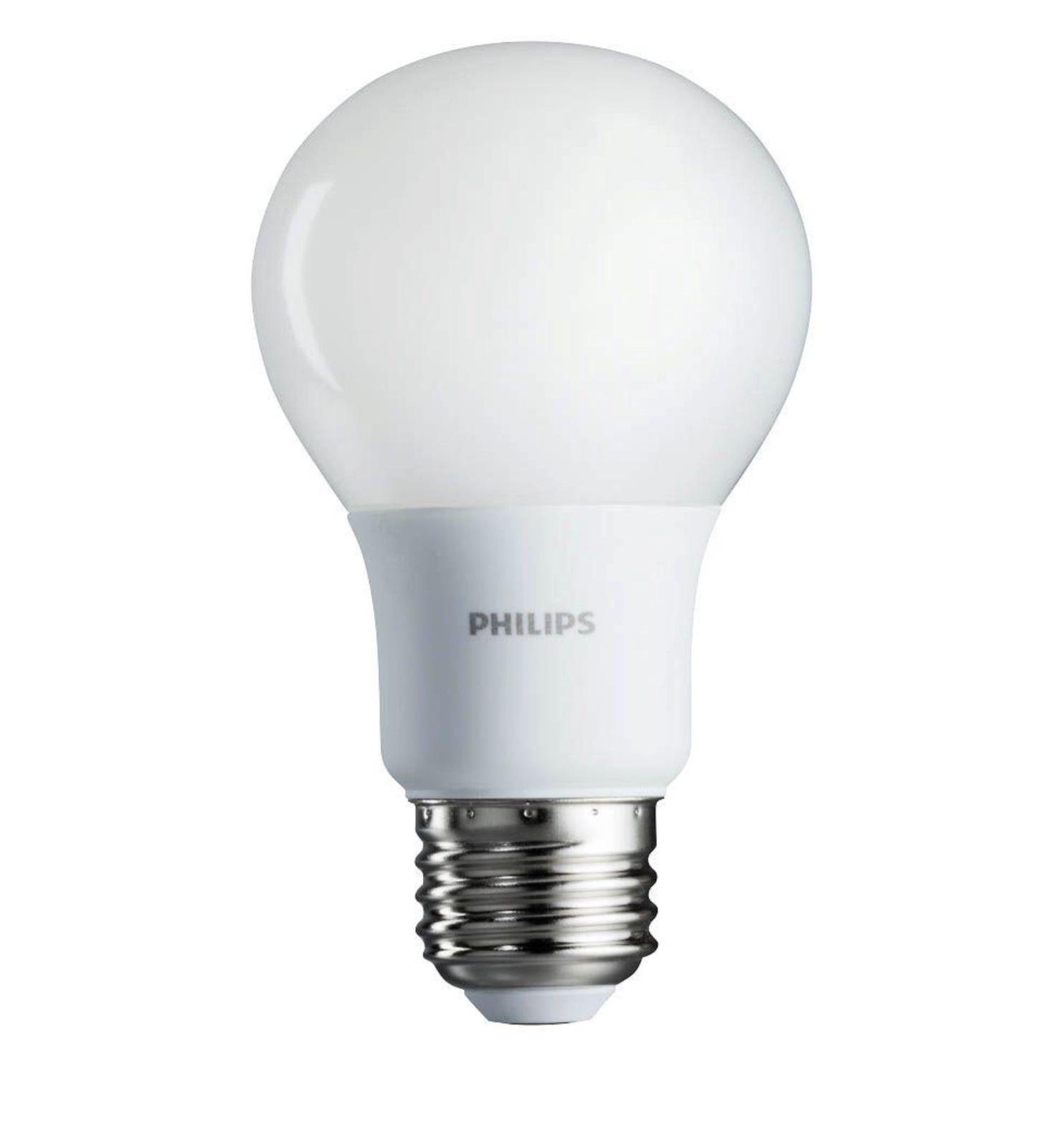 Philips 40w equivalent soft white a19 and 50 similar items philips 40w equivalent soft white a19 non dimmable led household light 4 bulb arubaitofo Choice Image