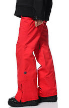 686 Mannual Patron Snowboard Pants Womens 10k Insulated Red S image 3