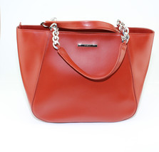 Womens Furla Dark Redish Orange Hobo Hand bag Purse Made in Italy New - $346.50