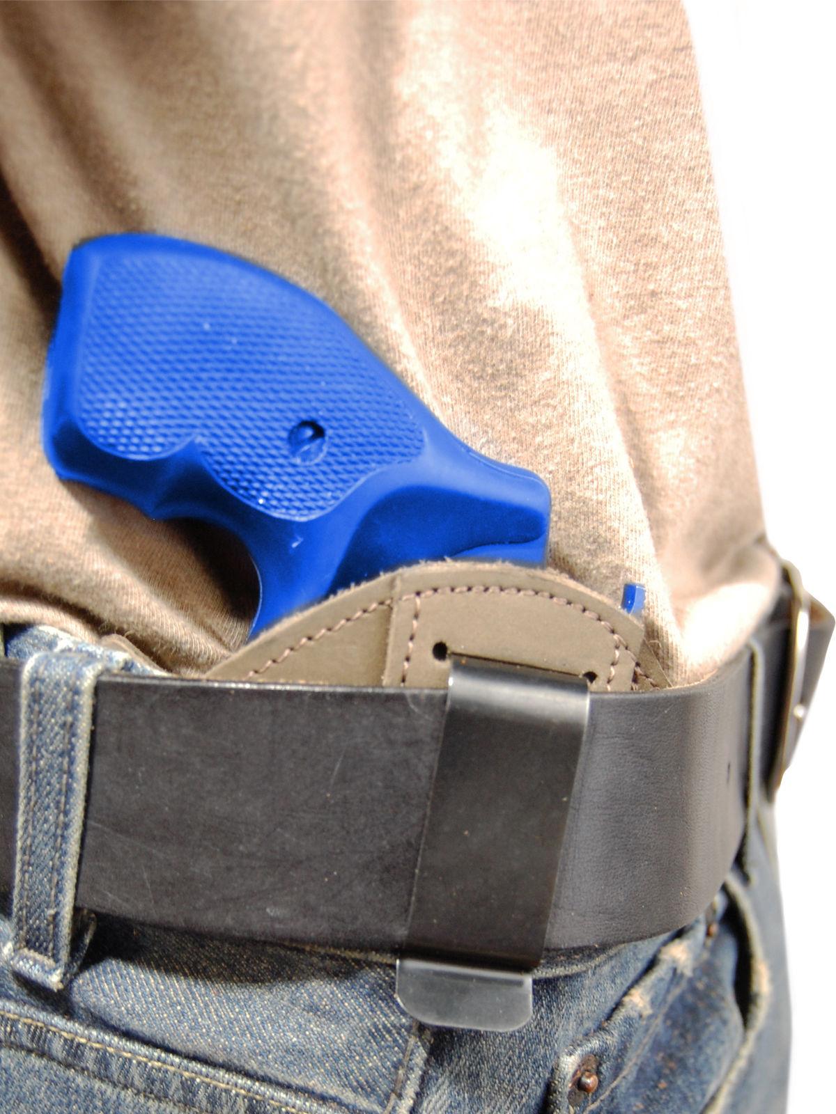 "NEW Barsony Black Leather IWB Gun Holster EAA Rossi 2/"" Snub Nose Revolvers"