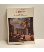 Giacomo Puccini IL Trittico Sheet Music Ricordi Opera Vocal Score Series - $27.00
