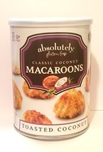 Absolutely Gluten Free Classic Toasted Coconut Macaroons Kosher For Passover 10  - $59.39