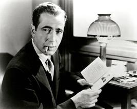 Humphrey Bogart smoking cigarette looking cool 8x10 Photo - $7.99