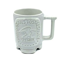 Frankoma C1 Coffee Mug US Postal Service Technical Center Norman, OK VTG... - $22.95