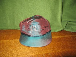 Vintage McDonald's Crew Cap Hat-Metallic Nylon-Adjustable-Unworn Condition - $9.95
