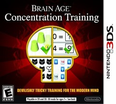 Brain Age: Concentration Training - Nintendo 3DS [video game] - $23.64