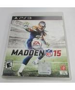 Madden NFL 15   PlayStation 3 PS3    no manual - $3.96