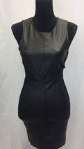 Women's Forever 21 Black Peplum Mini Dress Zip Back Size Small - $14.57