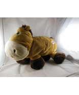 """STUFFIES adorable """"Dash"""" the horse brown soft stuffed animal with pocket... - $14.84"""