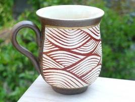 Japanese Mug tea coffee soup cup Kyo Kiyomizu yaki ware Spring Nanban Se... - $82.87