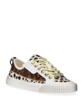 Jimmy Choo Impala Animal Print Low-Top Sneakers Size 10.5 MSRP: $750.00 - $376.19