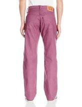 New Levi's Strauss 501 Men's Shrink To Fit Straight Leg Raw Denim Jeans 501-2404 image 2