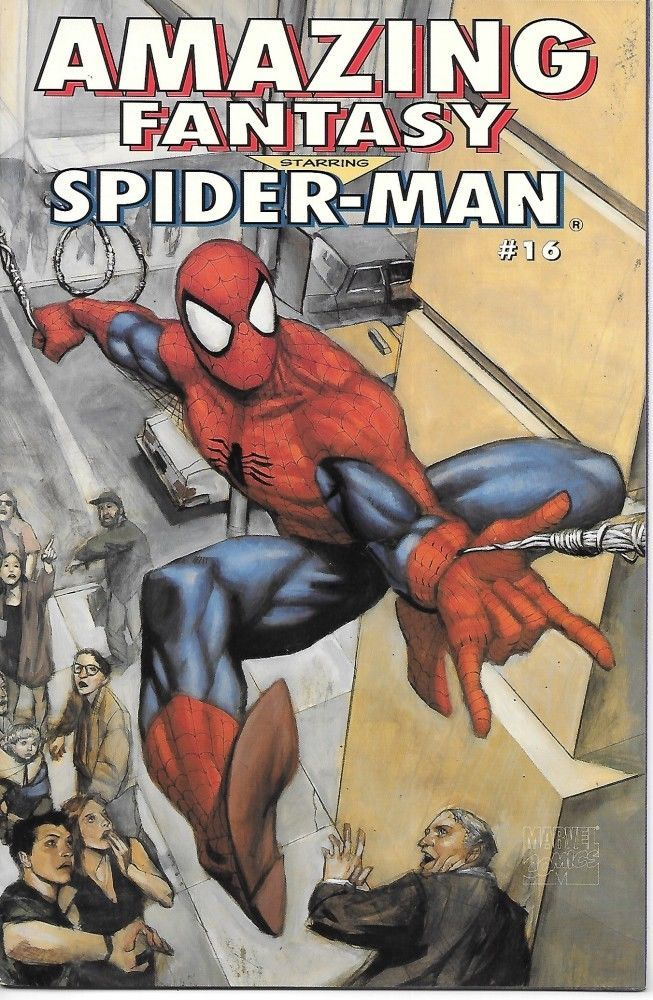 Primary image for Amazing Fantasy Comic Book #16 Starring Spider-Man Marvel Comics 1995 VERY FINE-
