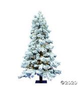 Vickerman 7' Flocked Spruce Christmas Tree with Warm White LED Lights - $463.73