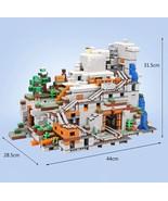 MINECRAFT Building Blocks Bricks The Mountain Cave Compatible Educationa... - $180.00