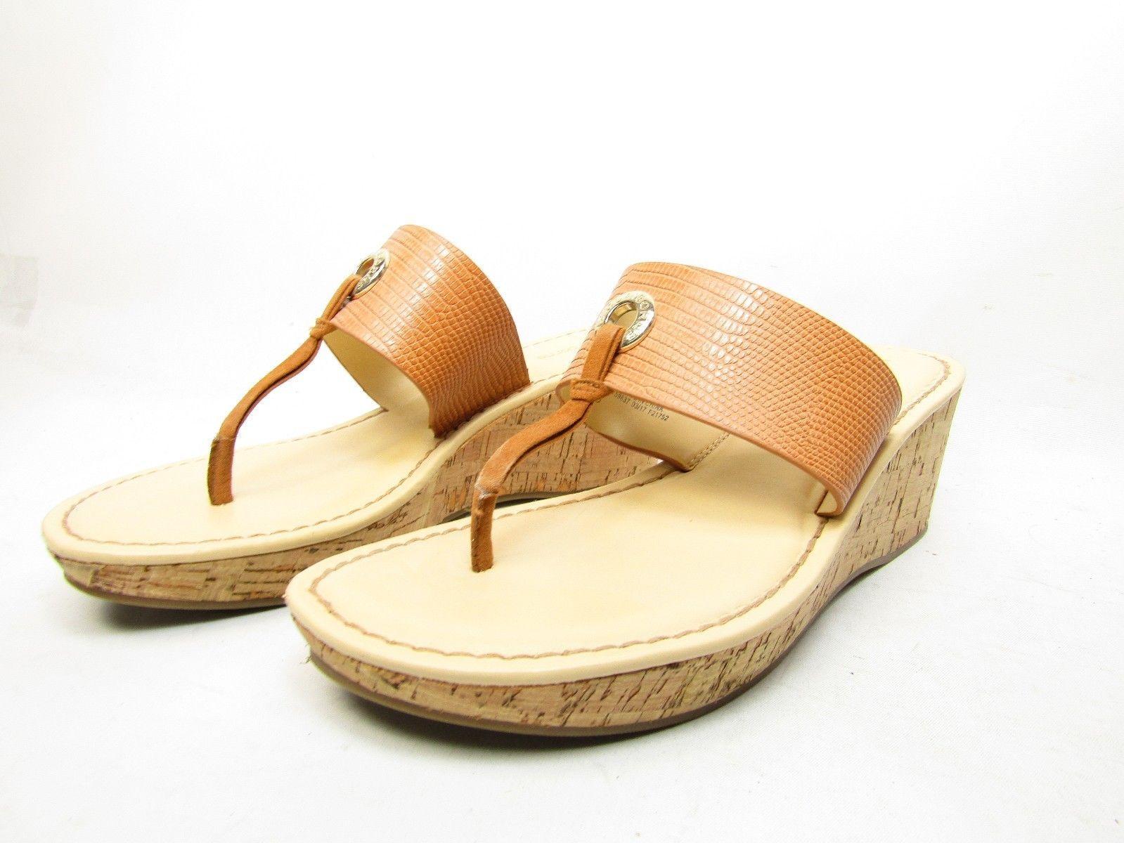 Liz Claiborne Lively Womens Sandals  Cognac Size 7.5M
