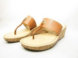 Liz Claiborne Lively Womens Sandals  Cognac Size 7.5M - $38.69