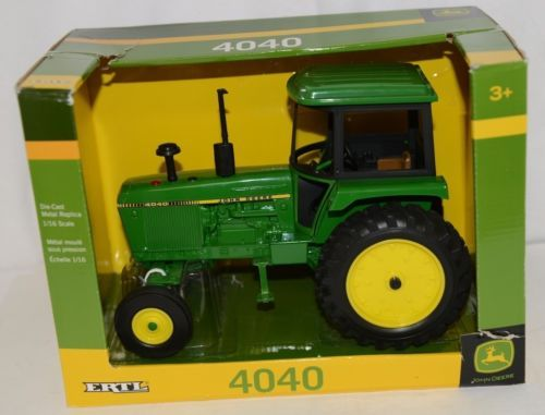 John Deere LP64439 Die Cast Metal Replica 4040 Tractor Ages 3 Up