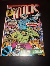The Incredible Hulk #191 Marvel Comic Book VG 6.0 1975 The Toad image 2