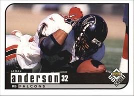 1998 Upper Deck UD Choice #7 Jamal Anderson > Atlanta Falcons > Utah - $0.99