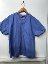 Dickies Scrubs V Neck Unisex Scrub Top Dickies Blue XS - $9.95