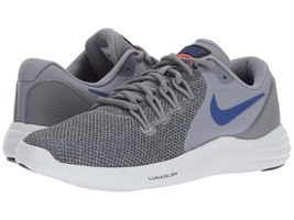 Men's Nike Lunar Apparent Running Shoes, 908987 005 Multi Sizes Cool Gre... - $89.95