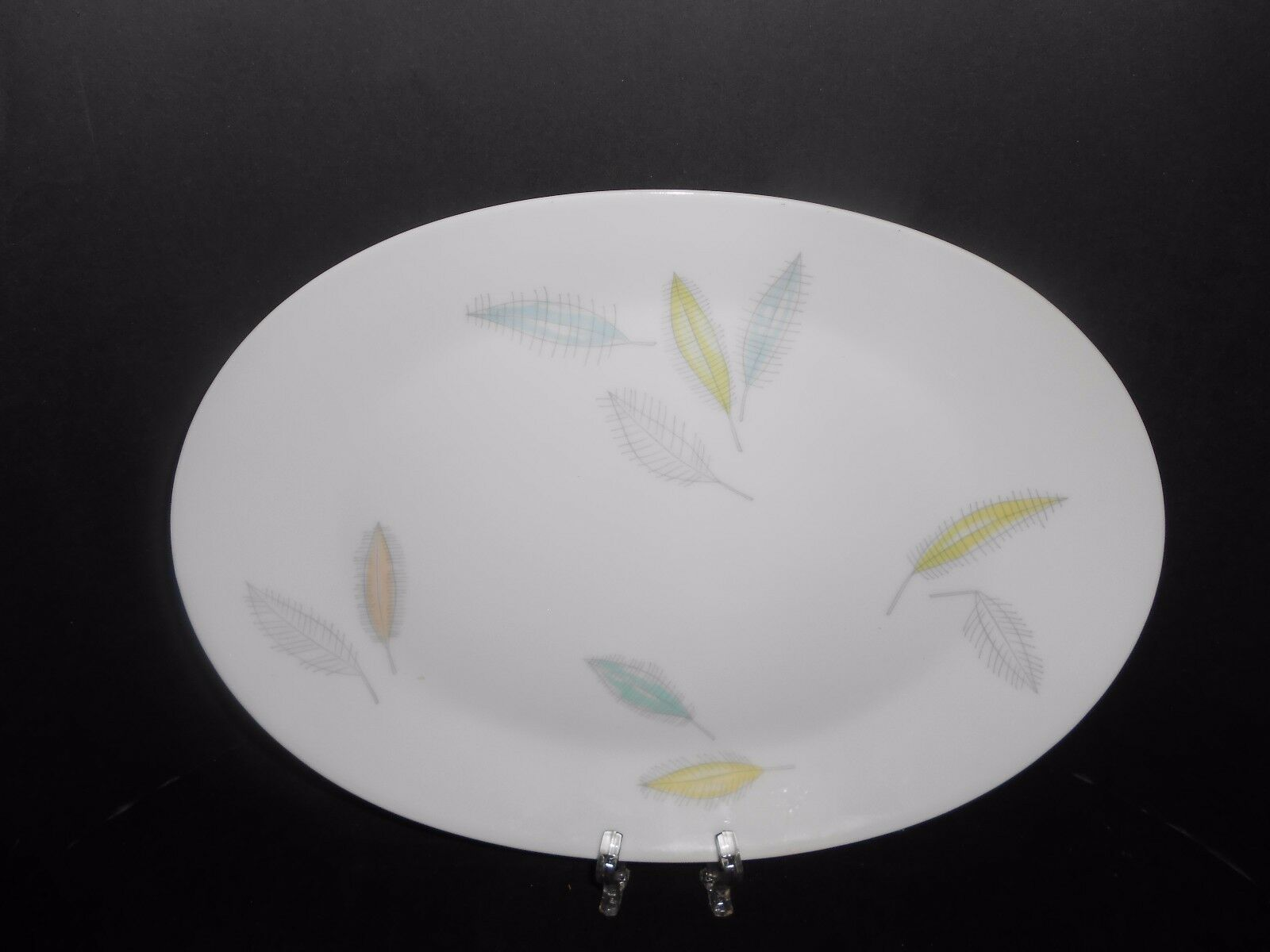 "Rosenthal China Loewy Bunte Blatte Colored Leaves Platter 13"" x 9 1/2"" 1950's - $23.75"