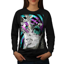 Retro 90s Stylish Fashion Jumper Artsy Lady Women Sweatshirt - $18.99