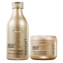 L'Oreal Paris Professional Absolute Repair Lipidium Shampo 250ml With Ma... - $42.08