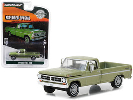 1971 F-100 Explorer Special Long Bed Pickup Truck Lime Gold Metallic Hob... - $13.18