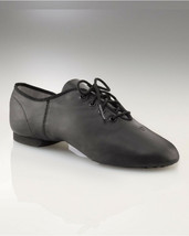 Capezio EJ1 Black Adult Size 3.5 Medium E-Series Jazz Oxford Split Sole ... - $26.72