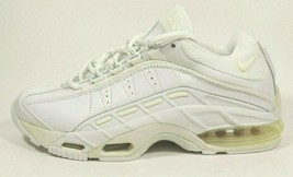 NIKE MENS SHOES AIR MAX BOKUL TRAINING LEATHER  WHITE Rare Vintage 37904... - $39.99