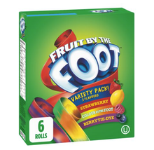 Fruit By The Foot by Betty Crocker Variety Pack Gluten Free 6 Rolls -FRO... - $15.64