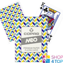 COPAG NEO TUNE POKER PLAYING CARDS DECK PAPER STANDARD INDEX NEW - $7.51