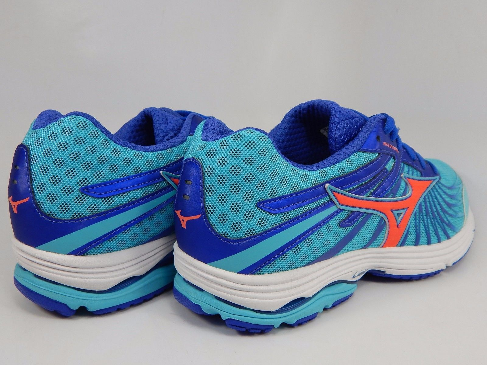 Mizuno Wave Sayonara 4 Women's Running Shoes Size US 8 M (B) EU 38.5 Blue Pink