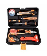 SOLUDE Home Repair Tools Sets,16 Pieces General Safety Hammer Car Hand T... - $15.09