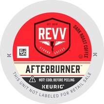 Revv Afterburner Coffee, 72 Keurig K cup Pods, FREE SHIPPING  - $52.99