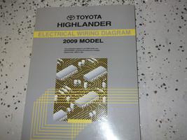 2009 Toyota HIGHLANDER  Electrical Wiring Diagram Troubleshooting Manual EWD OEM - $29.65