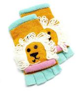 D & Y Womens Kids Knot Winter Hand Gloves Flip Top Glomitt Wool Blend Mi... - $17.99