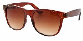 NEW Quay Eyeware Australia 1437 Shiny Brown Bronze Studs 100% UV Sunglasses