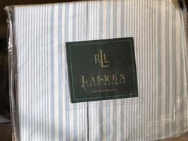 New Ralph Lauren Shelter Island Ticking Stripe King  Bed Skirt - $67.97