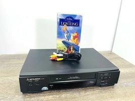 Mitsubishi VCR Twin Perfectape Stereo 4 Head HSU440 Tested A/V Cable, Mo... - $34.99