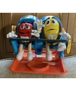M&M's World Fun Roller Coaster Candy Dispenser Red Yellow New Christmas ... - $123.75