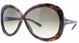Tom Ford MARGOT 226 52F Havana / Purple Gradient Sunglasses TF226 52F - $175.42